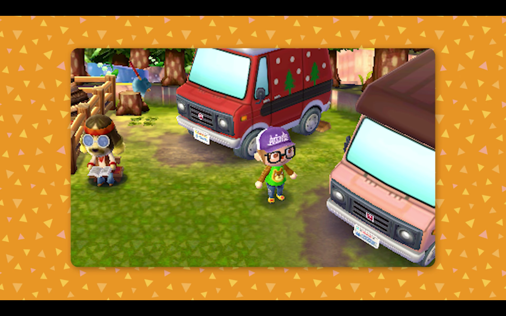 Animal Crossing New Leaf Welcome amiibo Campground