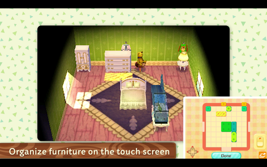 Animal Crossing Touch Screen